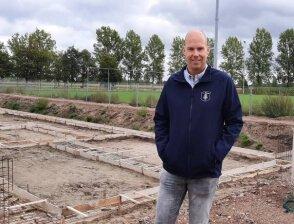 De bouw van het nieuwe clubgebouw van s.v. Rijssen is gestart