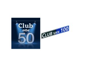 Vrijwilligers gezocht organisatie Club van 50 / 100